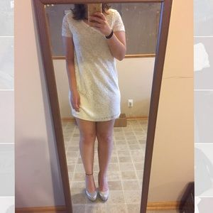 Really Cute White Summer Dress